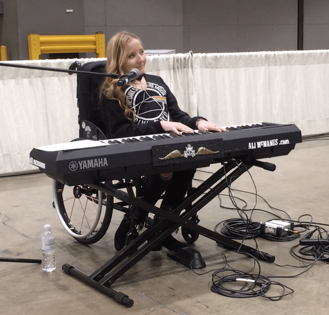 McManus performing at Abilities Expo LA