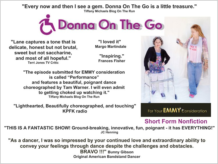Donna On The Go press reviews