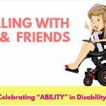 Rolling With Me & Friends: Book Series Teaches Kids Disability Etiquette